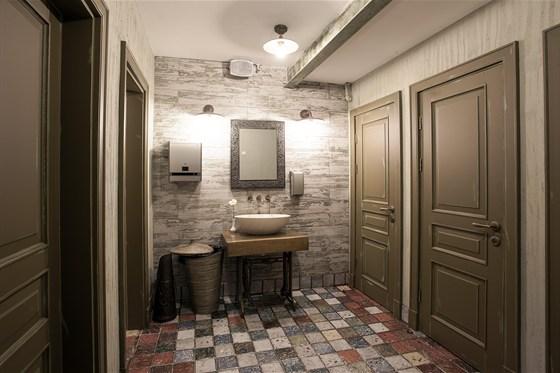 Ресторан Всякая всячина - фотография 5 - Туалет
