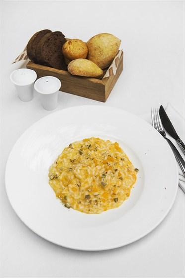 Ресторан Гастроном - фотография 4 - Ризотто с тыквой