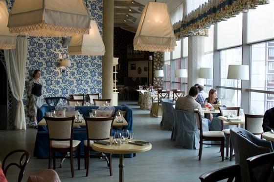 Ресторан Снегири - фотография 5 - СНЕГИРИ Ореховый б-р