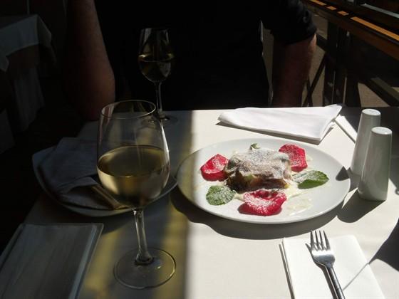 Ресторан Fiolet - фотография 19 - Fiolet. Веранда. 18.07.09