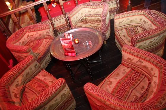 Ресторан Shisha - фотография 13 - Уютные кресла...