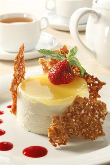 """Ресторан Mare Nostrum - фотография 10 - Десерт """"Йогуртовая паннакота"""""""