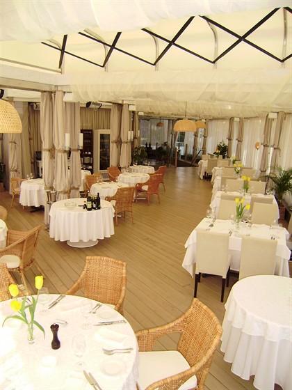 Ресторан La terrazza - фотография 11 - Терраса