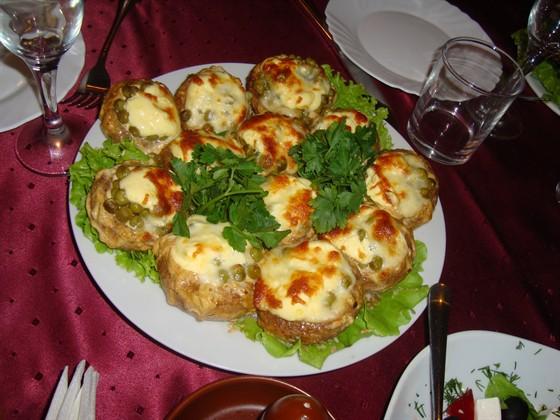 Ресторан Старый Ростов - фотография 4 - Запеченный грибы
