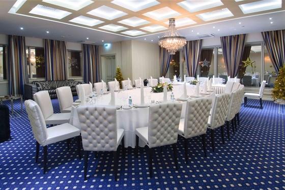 Ресторан Dorchester - фотография 3 - VIP зал ресторана Dorchester