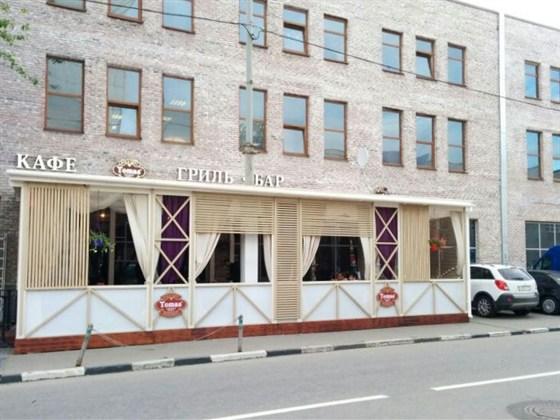 Ресторан Tomas Smokey Grill - фотография 7 - Летняя веранда