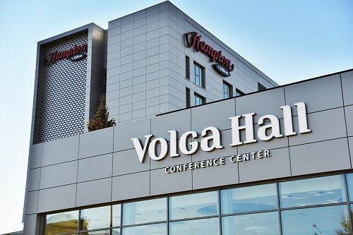 Ресторан Volga Hall - фотография 4 - фасад