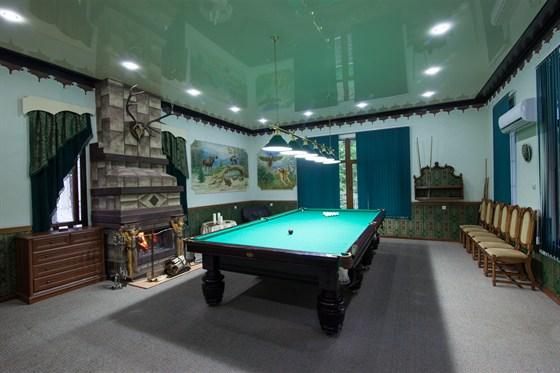 Ресторан Кон-коронель - фотография 4 - Бильярдная