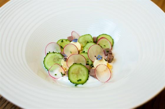 Ресторан Золотой - фотография 30 - летние блюда