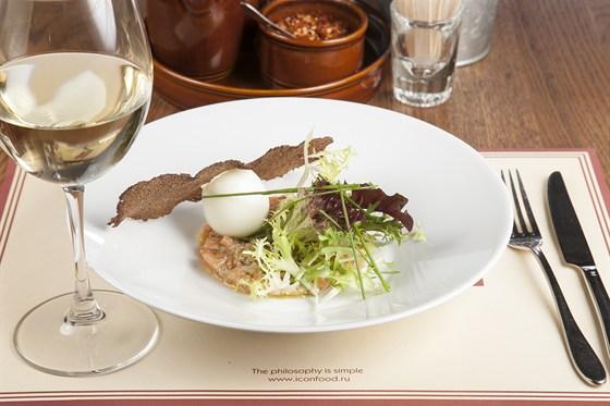 Ресторан Montalto - фотография 6 - Тар-тар из лосося