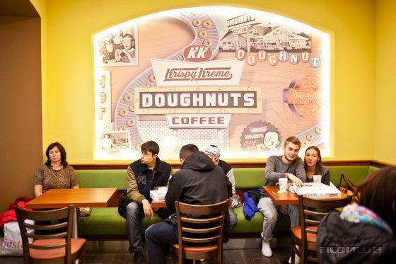 Ресторан Krispy Kreme - фотография 2