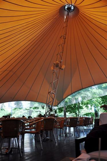 Ресторан Черноморская ривьера - фотография 23 - Летняя терраса