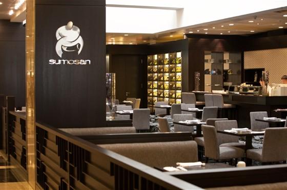 "Ресторан Sumosan - фотография 1 - Лобби ресторана ""Сумосан"""