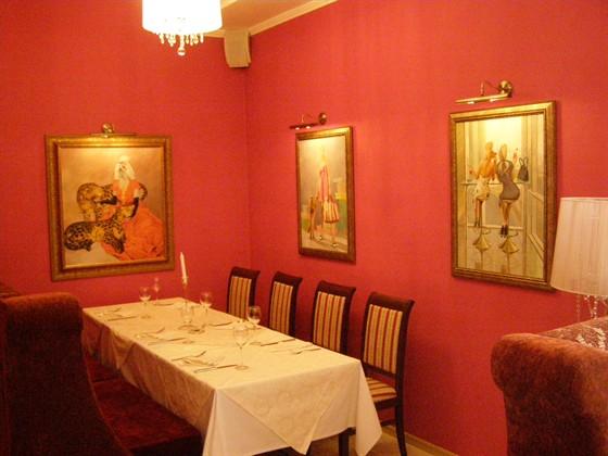Ресторан Жизнь удалась - фотография 4 - Отдельные комнаты для бизнес встреч