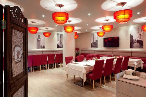Ресторан Ардженто - фотография 1 - Кафе Ардженто Банкетный зал