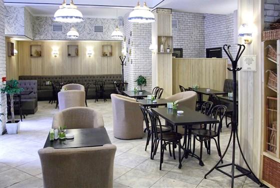 Ресторан Пшеница - фотография 4 - Курящий зал