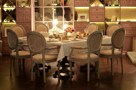 Ресторан Legran - фотография 7 - Банкетный зал. Вместимость 35 гостей/банкет, 60 гостей/фуршет.