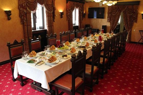 Ресторан Голицын - фотография 4 - VIP залы