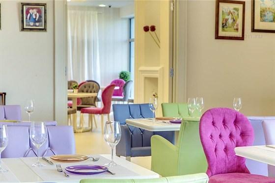 Ресторан Ribambelle Vremena Goda - фотография 7 - Большой зал для праздников
