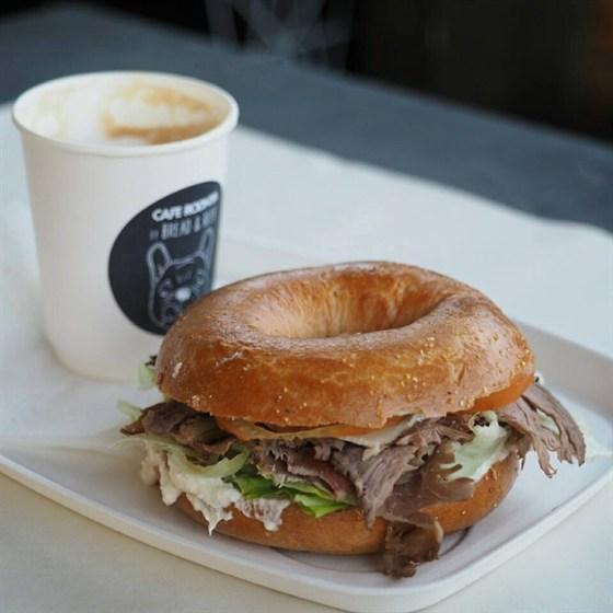 Ресторан Bread & Beef  - фотография 2 - Roast Beef + Coffee