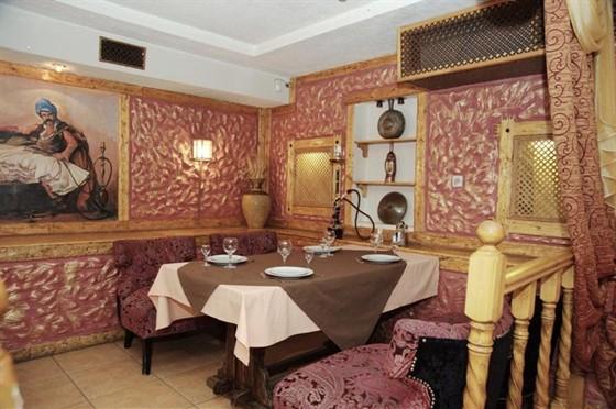 Ресторан Шарманка - фотография 7 - Кальянная комната