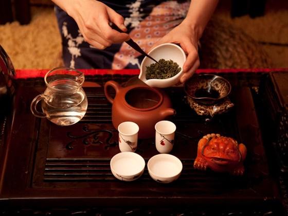 """Ресторан Души не чаю - фотография 1 - Чайная церемония в """"Души не чаю"""""""