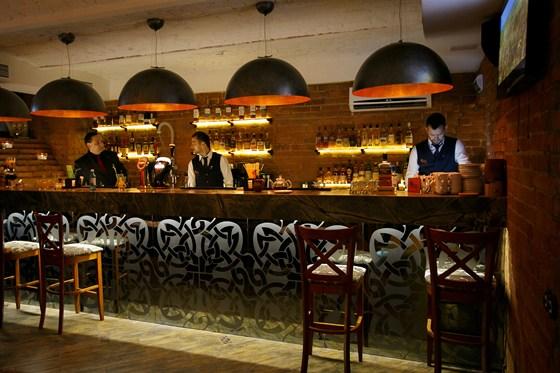Ресторан Whisky Rooms - фотография 3 - бар