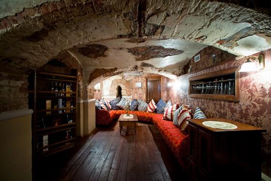 Ресторан Русский ампир - фотография 10 - Тайные комнаты