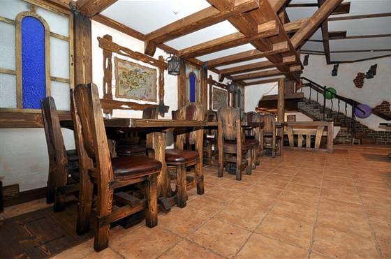 Ресторан Трюм - фотография 5 - Банкетный зал вмещает около сотни гостей.