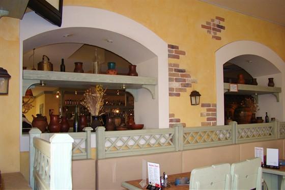 Ресторан Пронто - фотография 2 - Зал ресторана