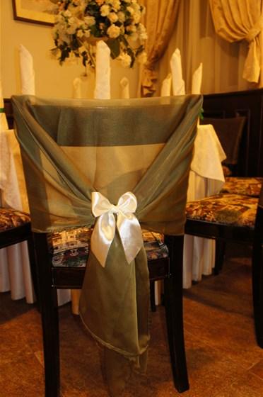 Ресторан Крем - фотография 10 - Пример оформления стульев