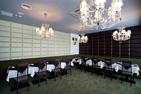 """Ресторан Gamberi - фотография 15 - Малый зеленый зал - """"Rimini"""""""