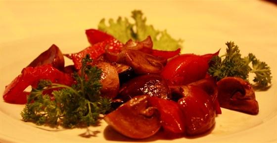 Ресторан Хинкали & Хачапури - фотография 7 - Овощи на гриле