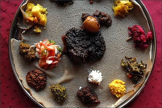 Ресторан Аддис-Абеба - фотография 11