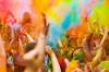 Фестиваль красок «Холи». Москва-2015