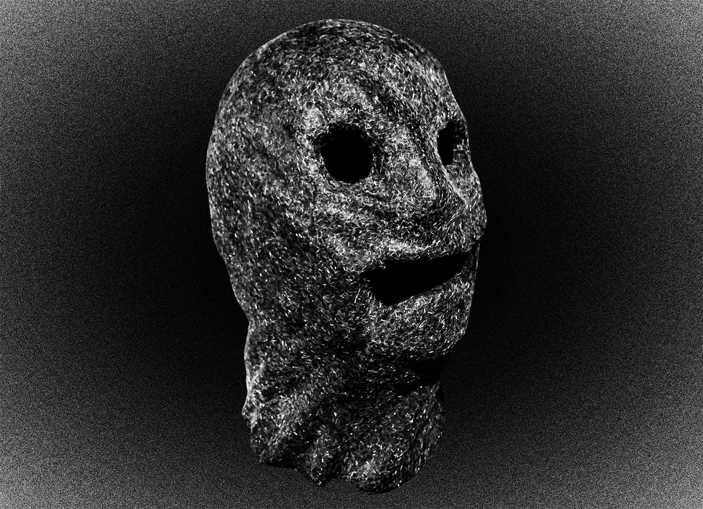 Маска Коллекционера из одноименного фильма Маркуса Данстэна 2009 года. Жуткую маску психопат дополняет черными линзами