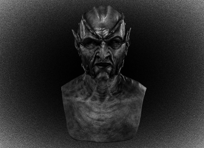 Маска демона Джиперса Криперса из одноименного фильма Виктора Сальвы 2001 года