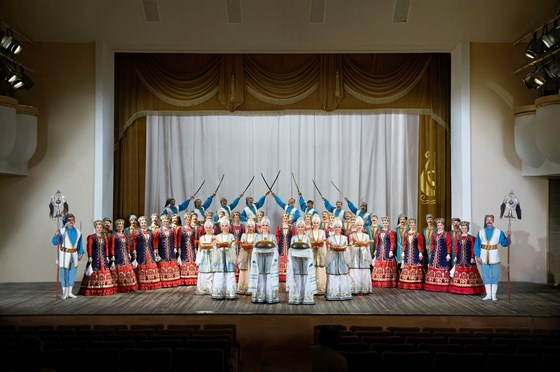 Концерт Ансамбля песни и пляски донских казаков им. Квасова смотреть фото