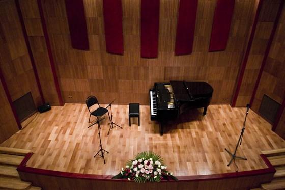 Фото камерный зал Московской филармонии