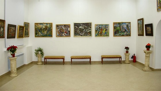Фото выставочный зал Варшавка