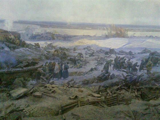 Фото музей Панорама «Сталинградская битва»