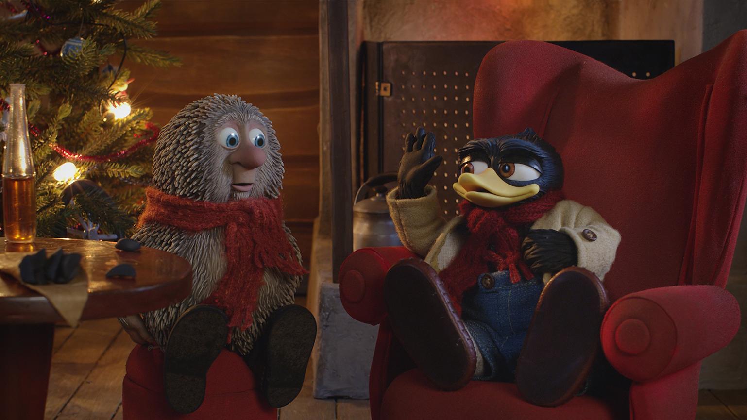 Снежные приключения Солана и Людвига смотреть фото