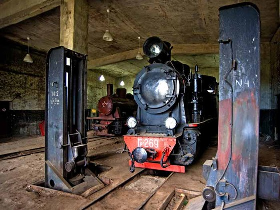Фото музей паровозов