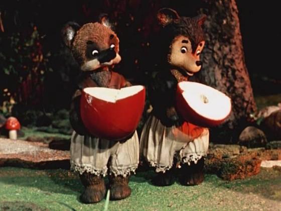 Два жадных медвежонка смотреть фото
