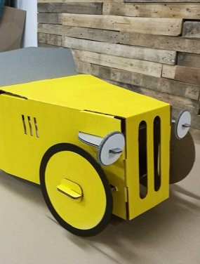 Ретроавтомобиль от «Картонного папы»