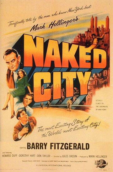 Постер Обнаженный город