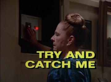 Постер Коломбо: Попробуй, поймай меня