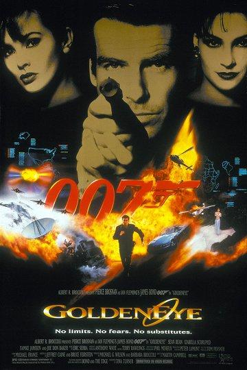 Постер Золотой глаз