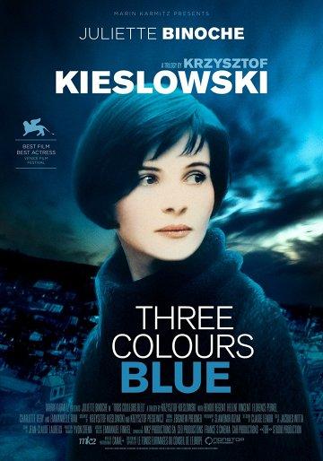 Постер Три цвета: Синий