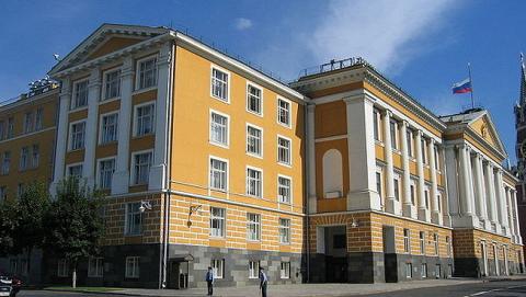 Так выглядит 14-й корпус Кремля